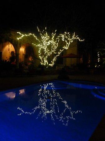 Hacienda De Los Santos:                   Night lights