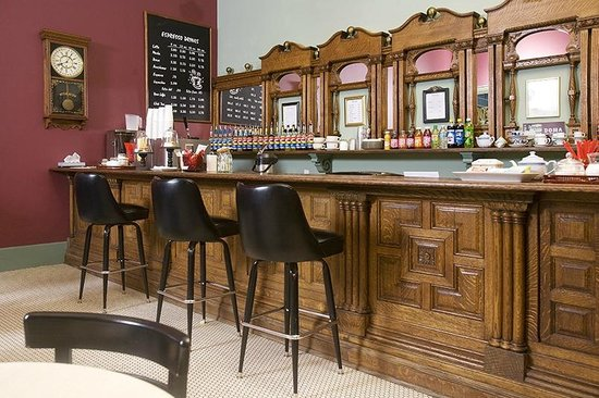The Weinhard Hotel: The coffee bar