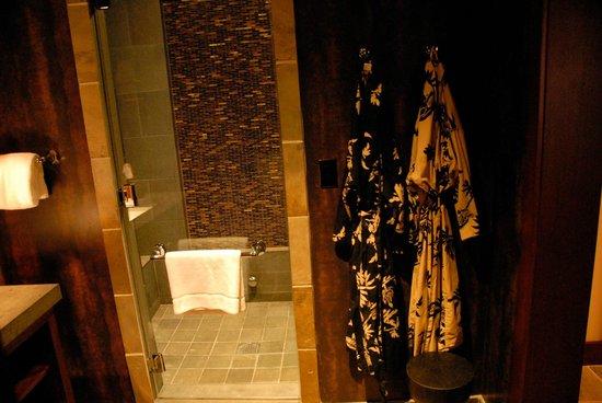 Four Seasons Resort Hualalai:                   Steam Room in Suite