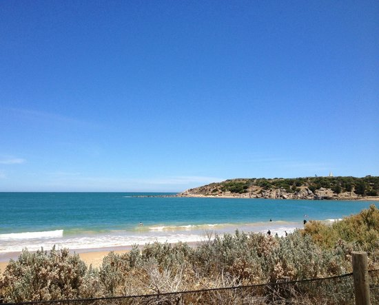 Port Elliot Holiday Park:                                     Horseshoe bay