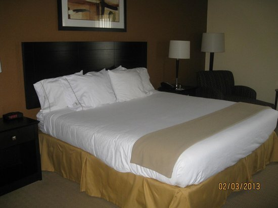 Holiday Inn Express and Suites Fort Lauderdale Executive Airport:                                     Nice comfortable bed & pillows