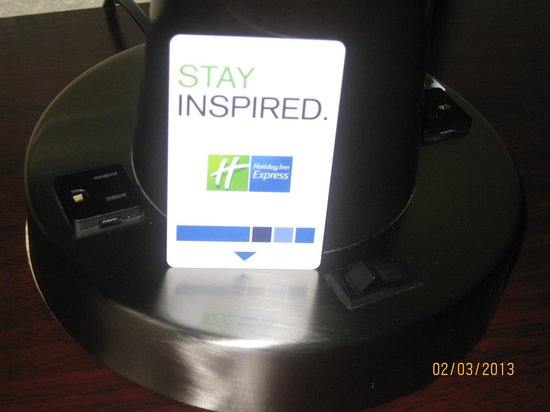 Holiday Inn Express and Suites Fort Lauderdale Executive Airport:                                     Just a card to remind us of where we stayed