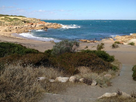 Port Elliot Holiday Park:                                     Crockery bay