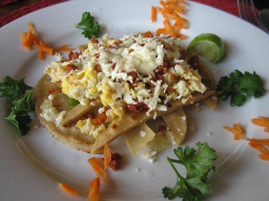 Hacienda Puerta Del Cielo Eco Spa:                                     breakfast!