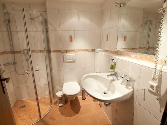 Hotel Fortuna: Bathroom