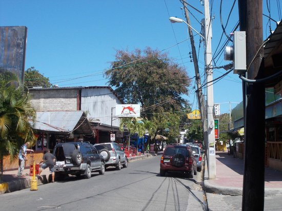 Rocky's Rock & Blues Bar and Hotel :                   Sosua Main Street
