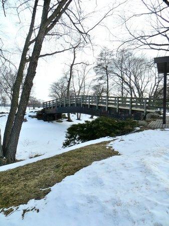Vilas Park: One of the bridges in the park