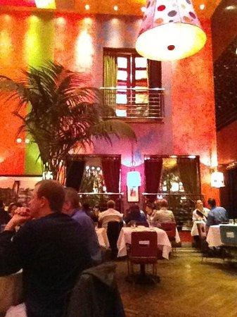 Carnivale:                   Dining area