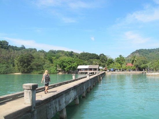 Koh Yao Beach Bungalows: peir