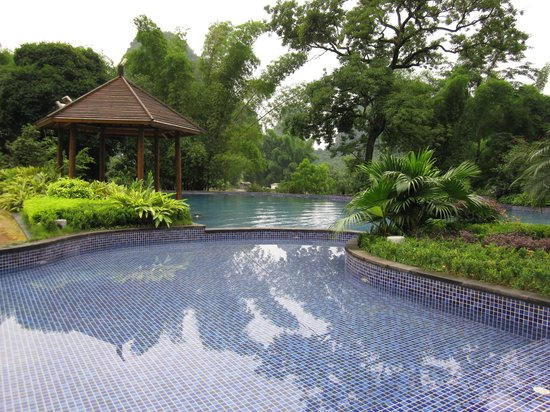 Yangshuo Resort:                   Beautiful Pool