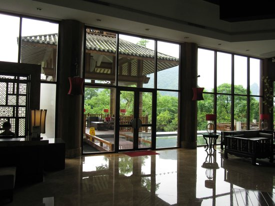 Yangshuo Resort:                   Lobby