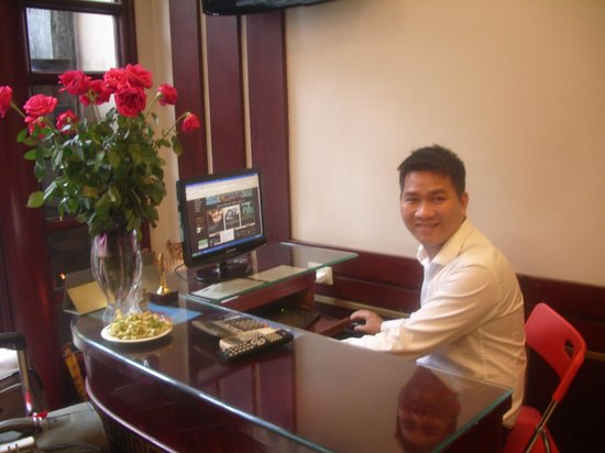 Golden Land Hotel:                   Danny - booking in another traveller