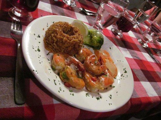 Hacienda Manteles:                                     Dinner