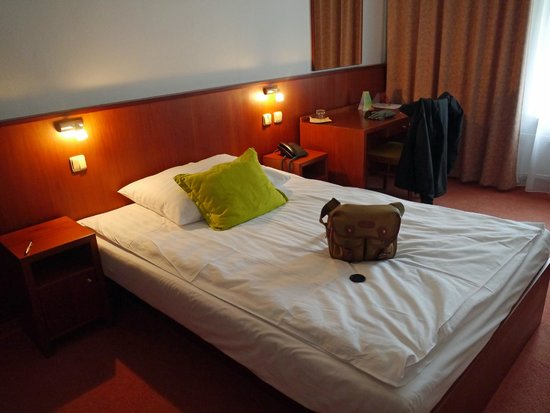 Hotel Atlantic: Double room (booked as single)