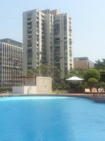 Trident, Nariman Point:                   View from the pool