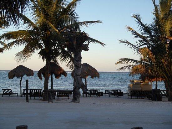 View of Luna de Plata beach