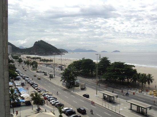 Hotel Atlantico Praia: Desde la ventana de la habitacion