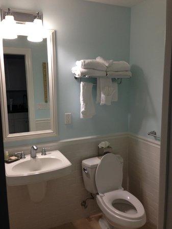 The Inn at Little Harbor:                   bathroom