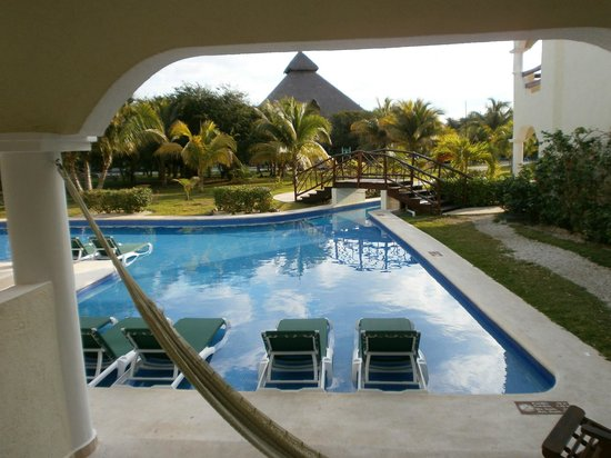 El Dorado Casitas Royale, by Karisma:                   The view of my junior suim up suit