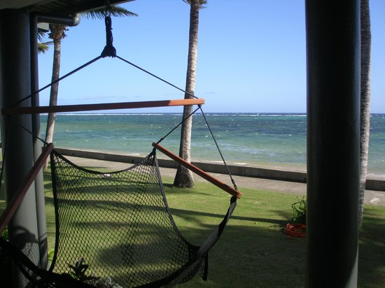 Fiji Hideaway Resort & Spa:                   View from Beachfront Villa