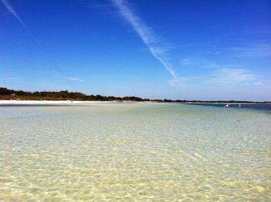 Bahia Honda State Park Campgrounds: Nice beach :-)