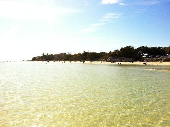 Bahia Honda State Park Campgrounds: beach