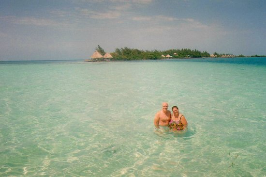 Coco Plum Island Resort:                   Crystal clear water, beautiful!