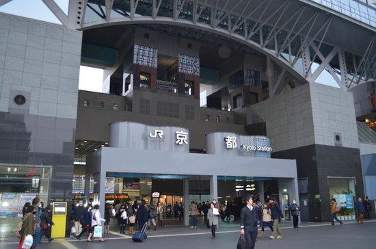 هوتل جرانفيا كيوتو:                   Kyoto Station!!!!!                 