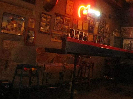 Texas Honky Tonk & Cantina:                   in the restaurant