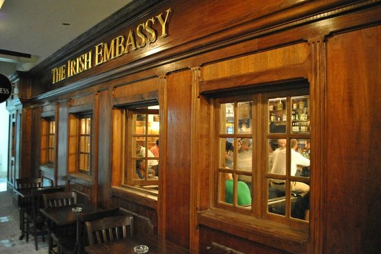 The Irish Embassy, Pub & Restaurant : The Irish Embassy