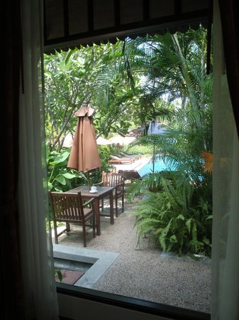 Railay Village Resort:                   Pool View from Room