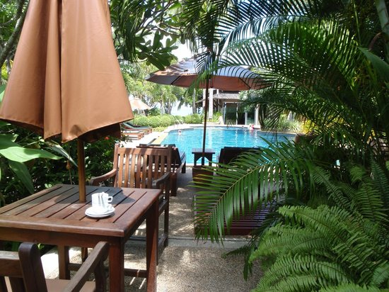 Railay Village Resort:                   Pool View