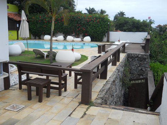 Buzios Arambare Hotel:                   Terraza Arambaré