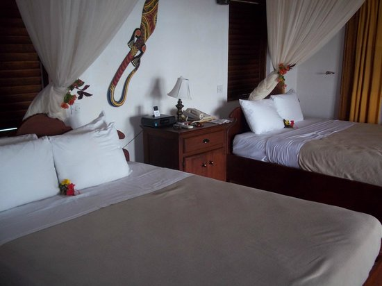 Ti Kaye Resort & Spa:                   Our Room on Arrival