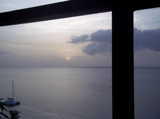 Ti Kaye Resort & Spa:                   Another Sunset from the Resort Bar