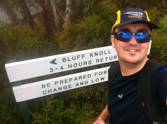 Stirling Range National Park:                   about to head off up the bluff