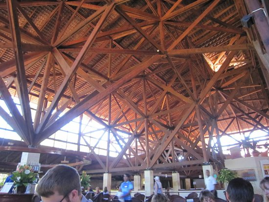 Natura Park Beach - EcoResort & Spa:                   Roof Structure