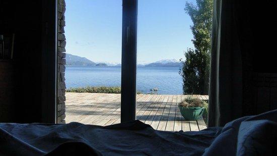 Apart Hotel Cabanas Balcon al Lago:                   vista desde la habitacion