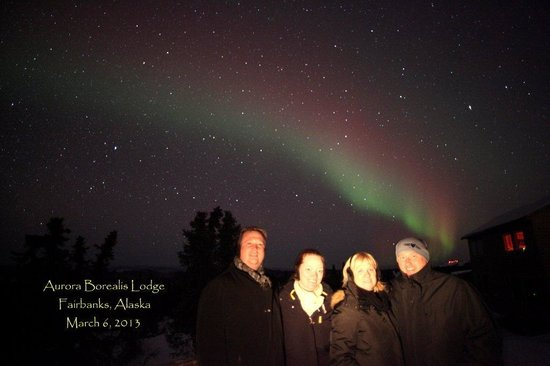 Aurora Borealis Lodge:                   Unforgettable experience!