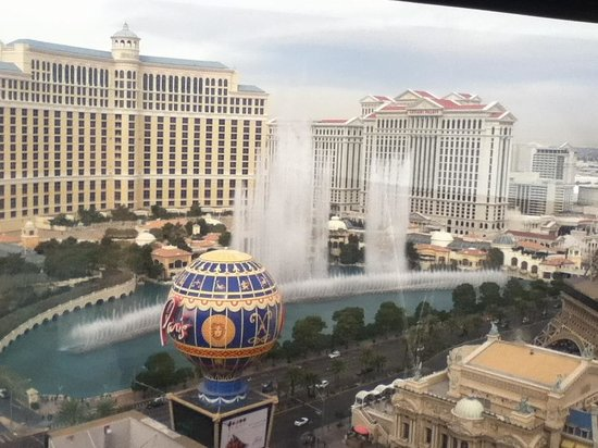 Planet Hollywood Resort & Casino:                   View from my room.