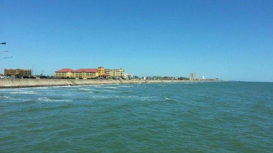 Galveston Fishing Pier: Facing East