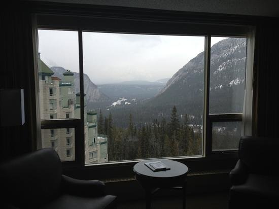 Rimrock Resort Hotel:                   the veiw from our room
