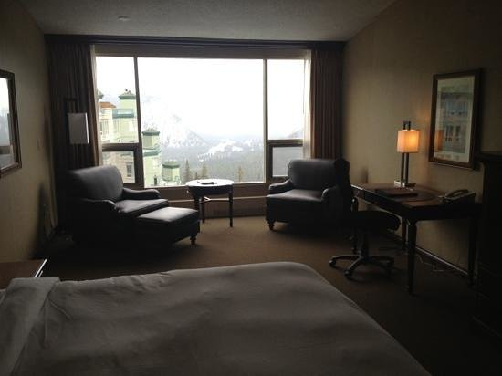 Rimrock Resort Hotel:                   our lovely room