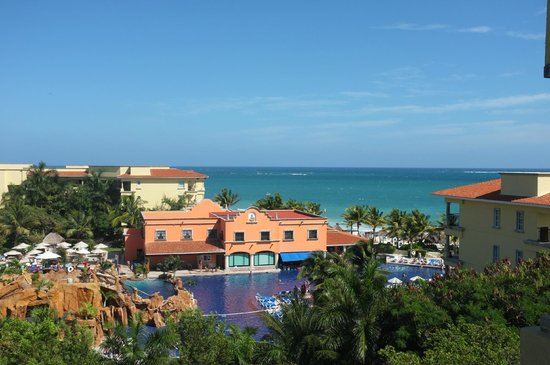 Hotel Marina El Cid Spa & Beach Resort:                   View from the room in building 18