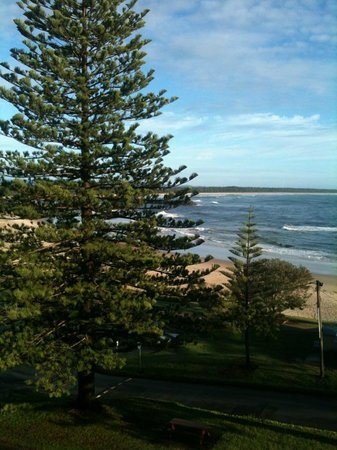 Sandcastle Apartments Port Macquarie:                   The view from the balcony