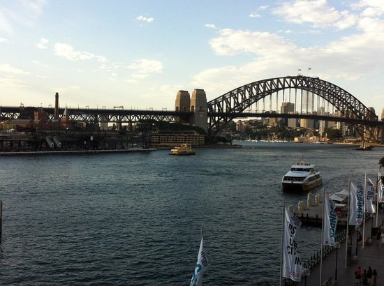 Pullman Quay Grand Sydney Harbour:                   View from h