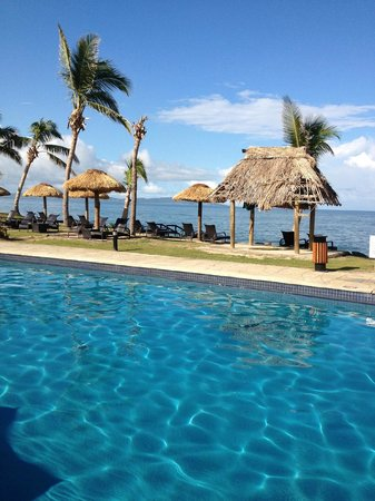 Wyndham Resort Denarau Island:                                     Pool View