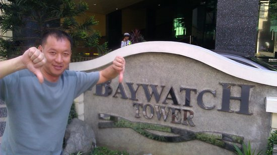 Baywatch Tower Manila:                   Two thumbs down