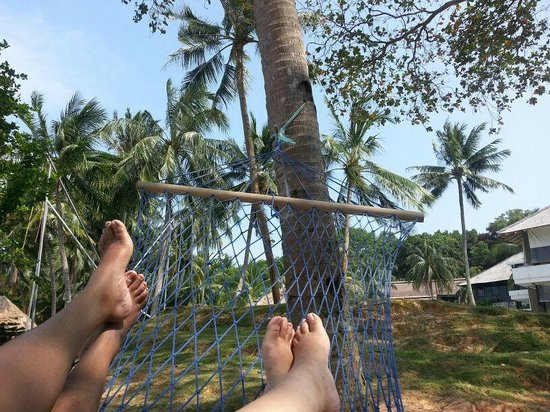 Turi Beach Resort:                   Hanging out by the beach