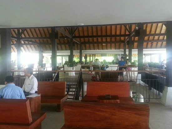 Turi Beach Resort:                   The hotel's lobby